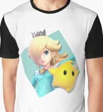 Smash Bros. Ultimate Rosalina & Luma Diamond Icon Graphic T-Shirt
