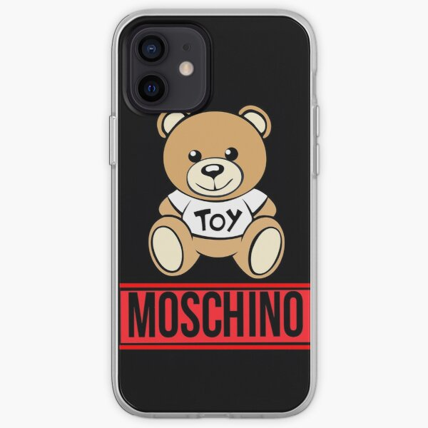 Moschino jouet Coque souple iPhone