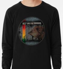 keep the fire burning Leichtes Sweatshirt