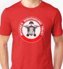 Moose's Sighthound Trust Logo Unisex T-Shirt