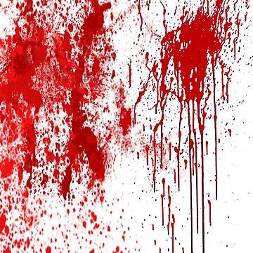 A Splash of blood by sillyshirtsco