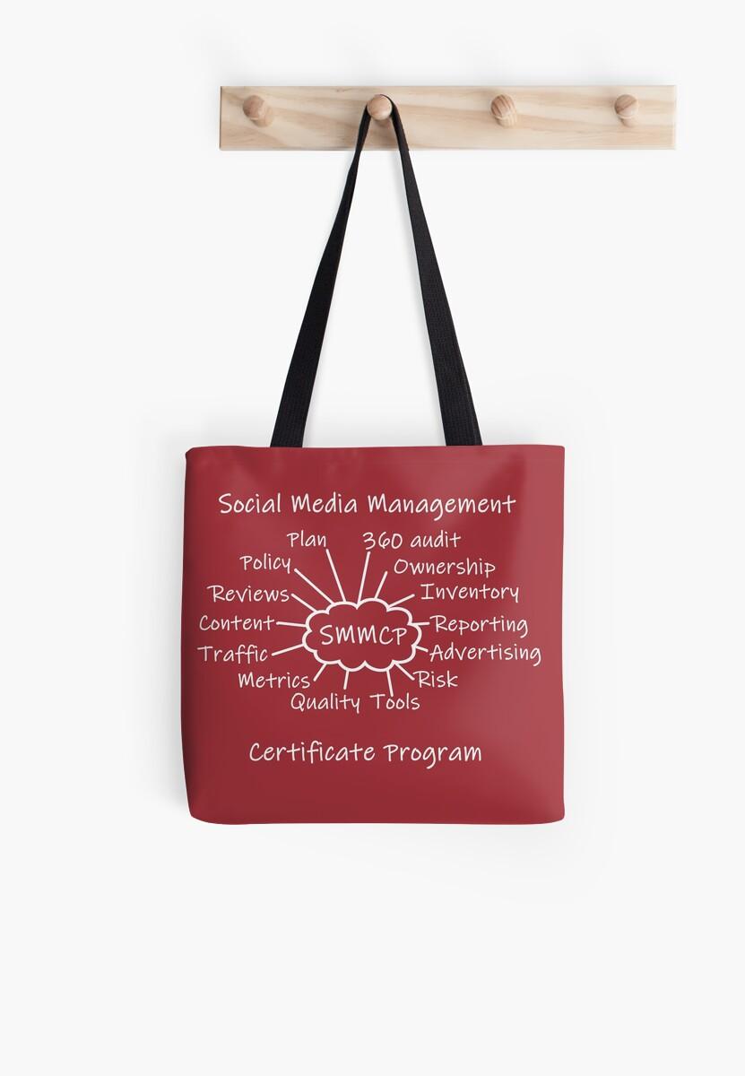 Social Media Management Certificate Program Swag by SpiritStudio