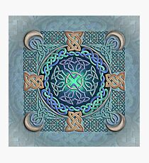 Celtic Eye of the World Photographic Print