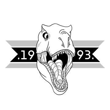 Jurassic Raptor Crew .White Version. by aivis001