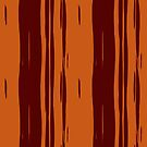 The color of chocolate.Decorative design. by starchim01