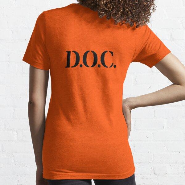 Prisoner Shirt Costume Dress Up / Halloween D.O.C. Shirt Essential T-Shirt