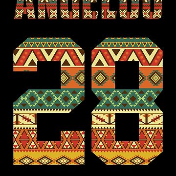 Angelou African Print 1928 by BonafideIcon