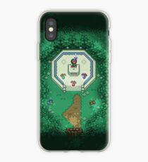 Zelda Mastersword Pixels iPhone Case