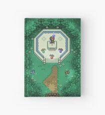 Zelda Mastersword Pixels Hardcover Journal