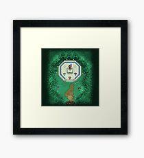 Zelda Mastersword Pixels Framed Print