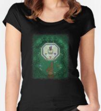 Zelda Mastersword Pixels Women's Fitted Scoop T-Shirt