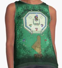 Zelda Mastersword Pixels Contrast Tank