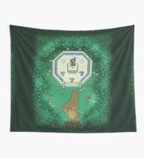 Zelda Mastersword Pixels Wall Tapestry