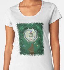 Zelda Mastersword Pixels Women's Premium T-Shirt