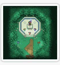 Zelda Mastersword Pixels Sticker