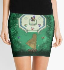 Zelda Mastersword Pixels Mini Skirt