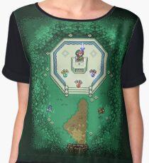 Zelda Mastersword Pixels Chiffon Top