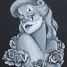 Pin Up Roses by emilypageart