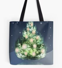 Fraktal-Weihnachtsbaum Tasche