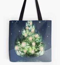 Fraktal-Weihnachtsbaum Tote Bag