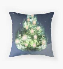 Fraktal-Weihnachtsbaum Kissen