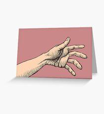 The Jealous Hand Grußkarte