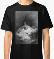 Gustave Dore, 1883, Illustration, Edgar Allan Poe, 'The Raven' Classic T-Shirt