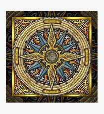 Celtic Compass Fotodruck