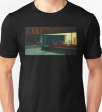 AMERICAN ARTIST,  Edward Hopper, Nighthawks, 1942 Unisex T-Shirt