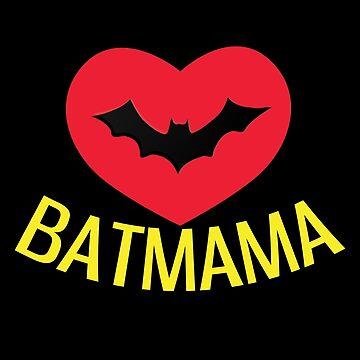 Batmama my mum is my superhero by Gifafun
