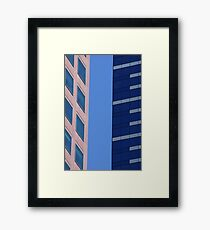 You Calling Me A Blockhead? Framed Print