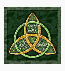Celtic Trinity Knot Photographic Print