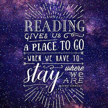 La lectura nos da un lugar de stellaarts