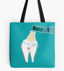 Happy Dental Cleaning Tote Bag