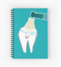 Cuaderno de espiral Feliz limpieza dental