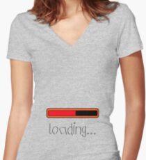 Loading... < Mug > Women's Fitted V-Neck T-Shirt