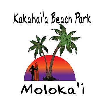 Kakahai'a Beach Park in Moloka'i by RBBeachDesigns