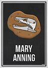 «MARY ANNING - Mujeres en la ciencia» de Hydrogene