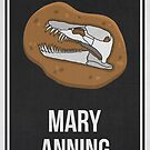 MARY ANNING - Women In Science by Hydrogene