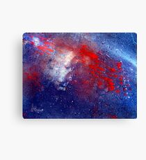 Simply Red!  Stars Canvas Print