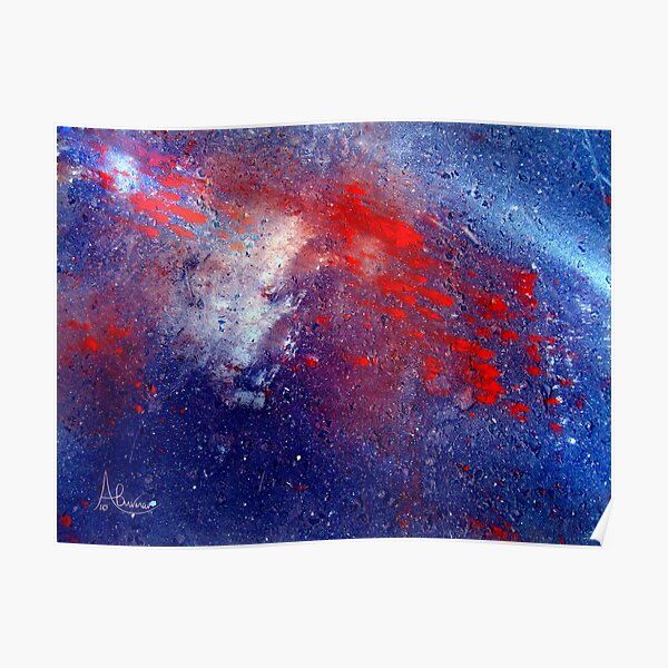 Simply Red!  Stars Poster