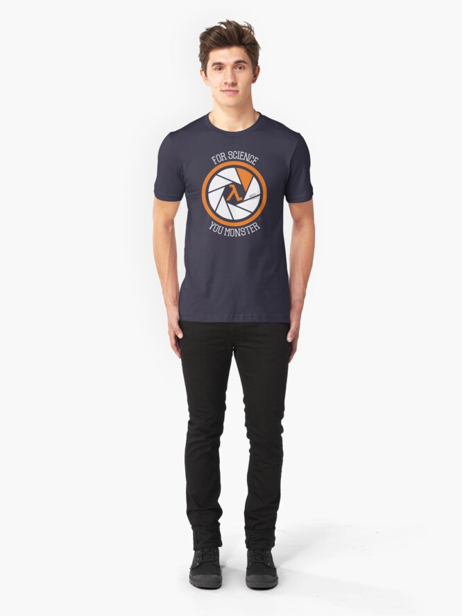 Alternate view of For Science - Roley Slim Fit T-Shirt