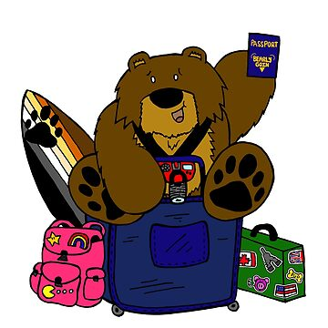 Travel Bear by BearlyGoin