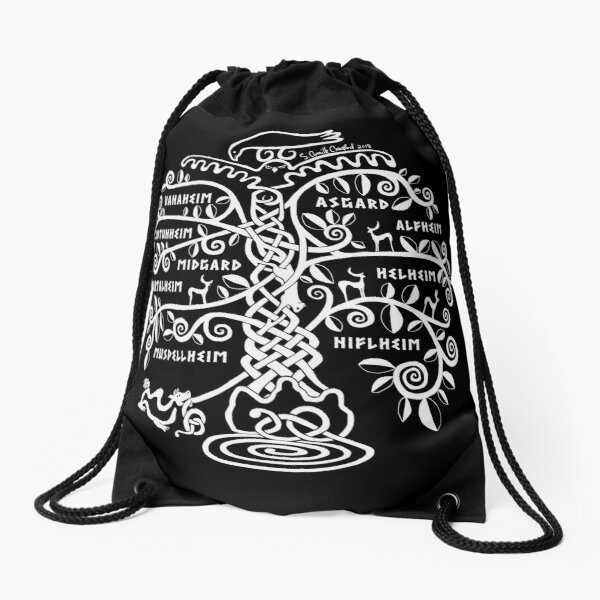 The World Tree - Yggdrasil Drawstring Bag