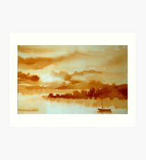 Sunset, West Cork Art Print