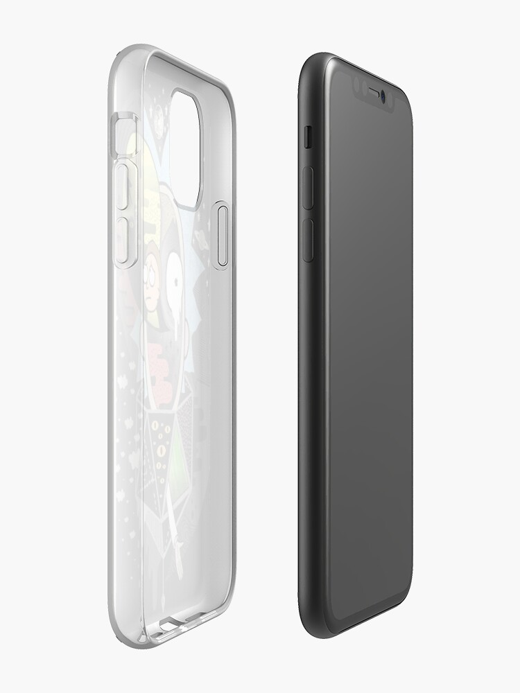Alternate view of Rick Polarity iPhone Case & Cover