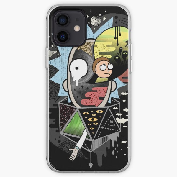 Rick Polarity iPhone Soft Case