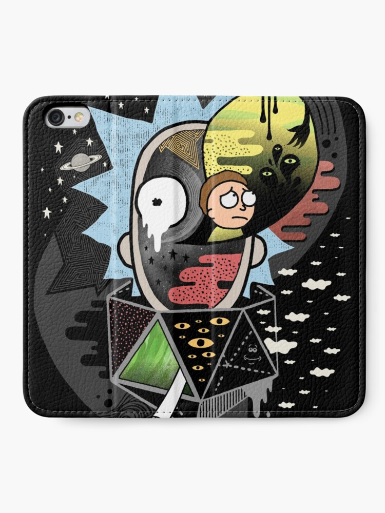 Alternate view of Rick Polarity iPhone Wallet