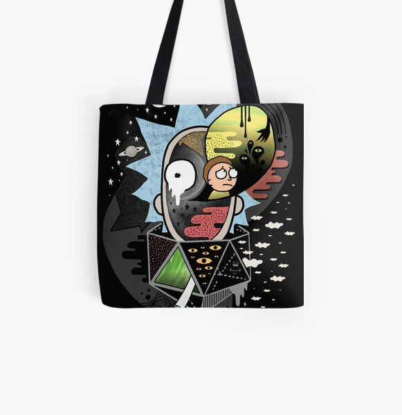 Rick Polarity All Over Print Tote Bag