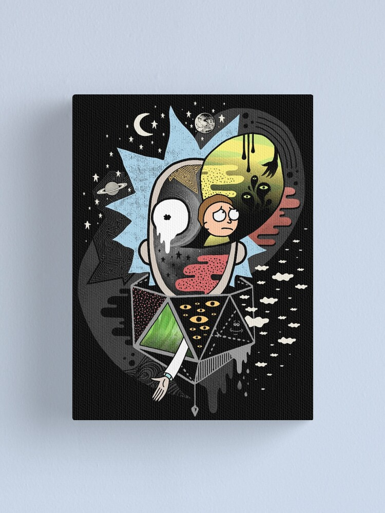 Alternate view of Rick Polarity Canvas Print
